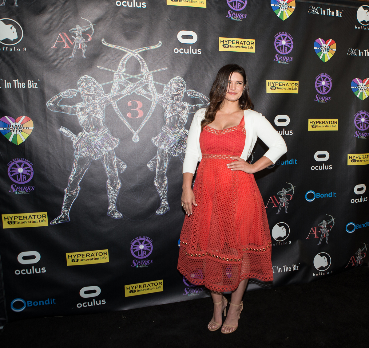 Gina Carano 2017 Action Warrior Honoree