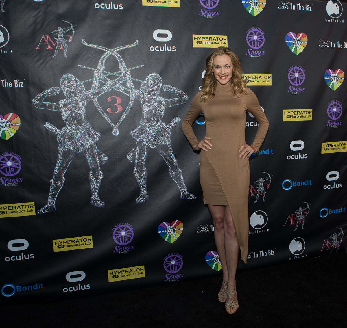 Kristanna Loken 2015 Action Warrior Honoree