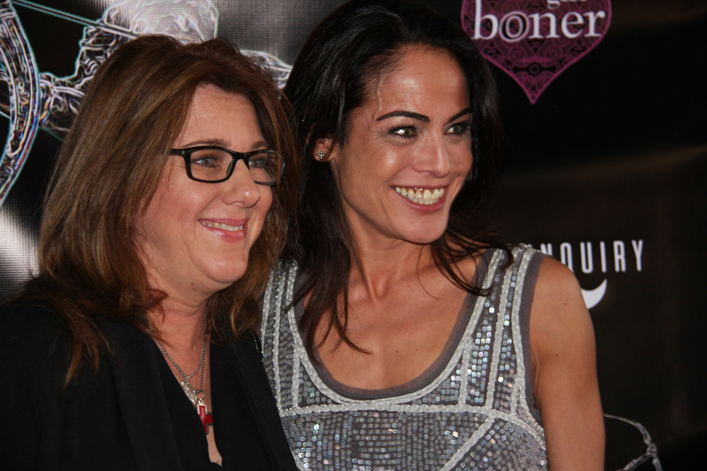Michelle Mangione Yancy Butler 2016 Artemis Action Powerhouse Honoree