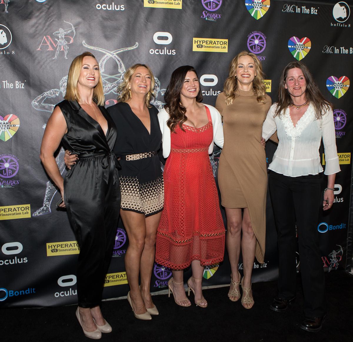 Vanessa Cater, Zoe Bell, Gina Carano, Kristanna Loken, Melanie Wise