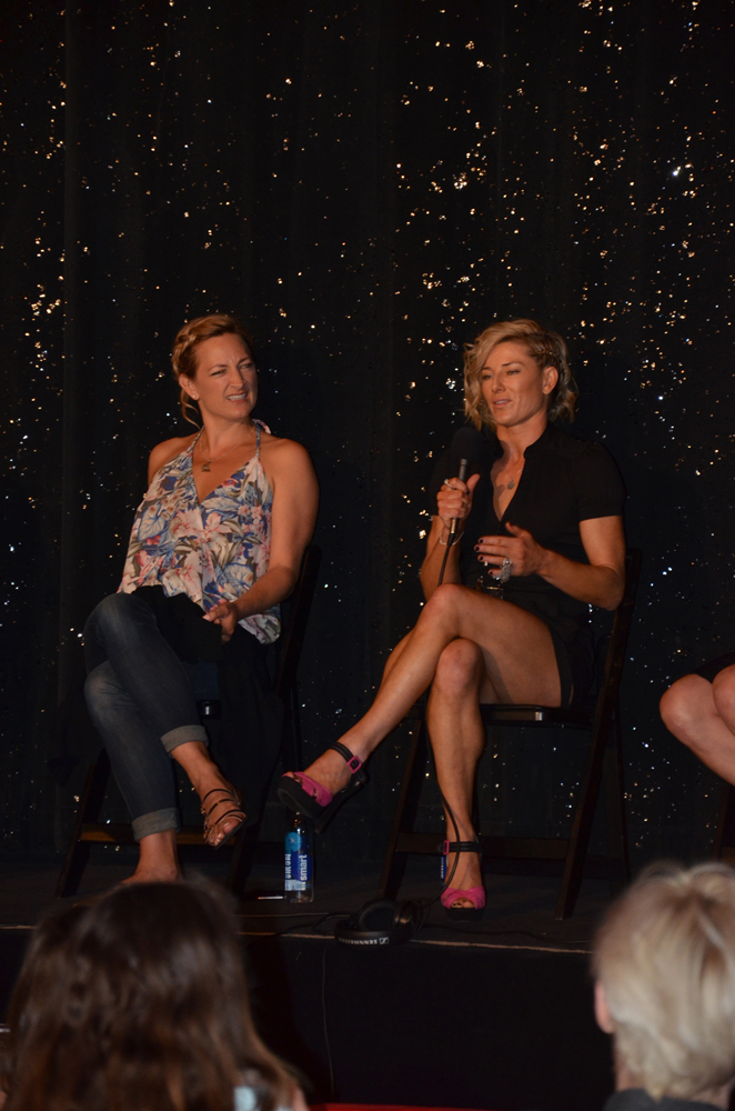 Zoe Bell Heidi Moneymaker Stunt Panel