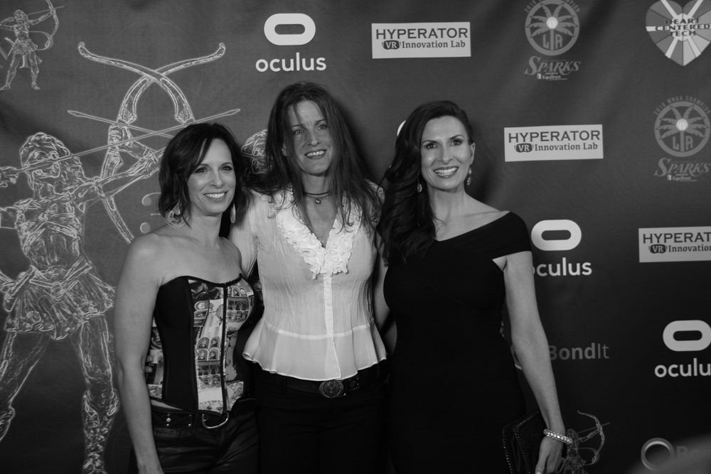 Danielle Burgio Melanie Wise Tammie Baird Artemis Women In Action Film Festival Opening Night Gala