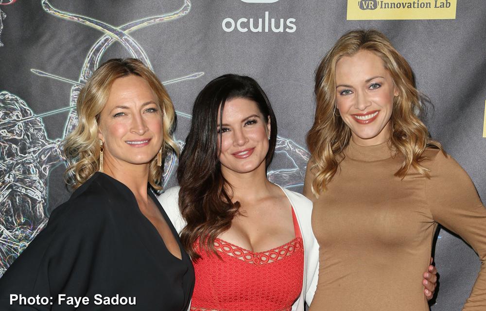 Zoe Bell, Gina Carano, Kristanna Loken Artemis Women In Action Film Festival Opening Night Gala