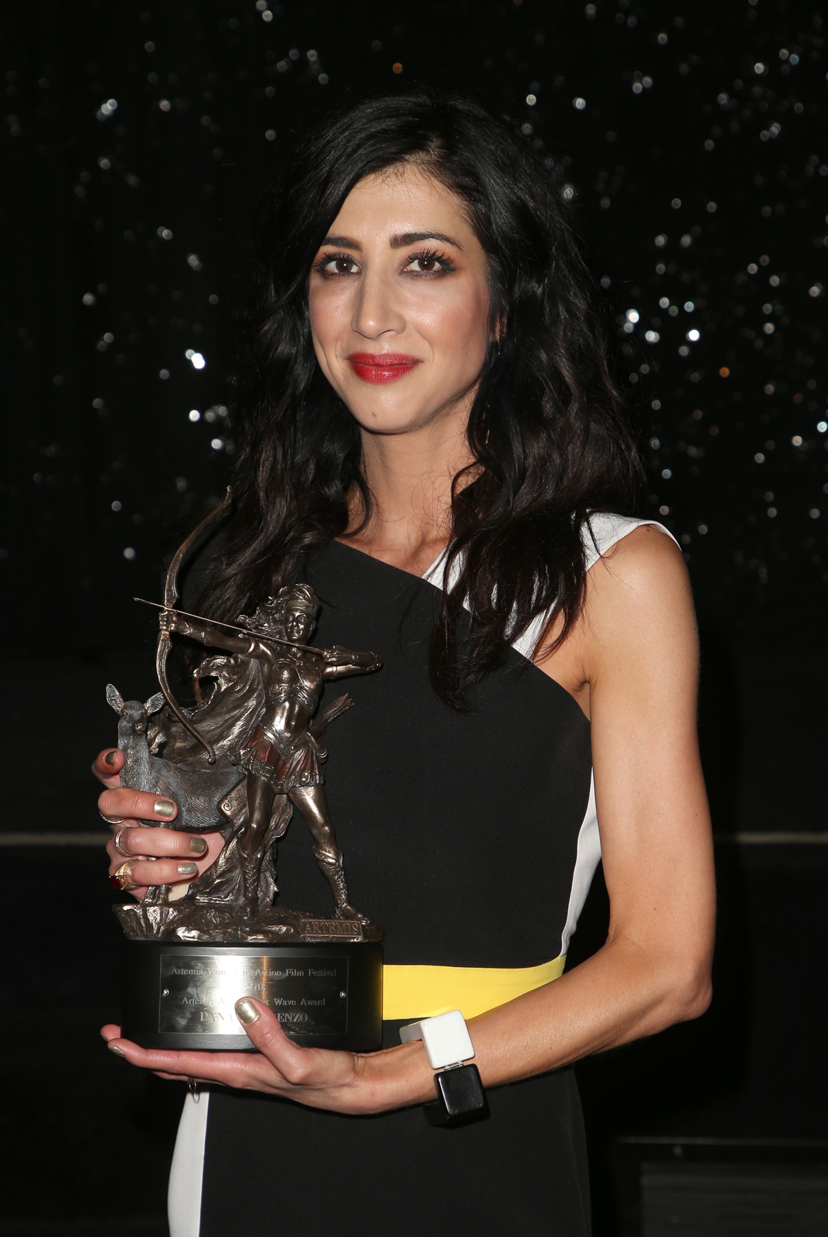 BEVERLY HILLS, CA - APRIL 26: Dana DeLorenzo, at the 2018 Artemis Awards Gala at the Ahrya Fine Arts Theater in Beverly Hills, California on April 26, 2018. Credit: Faye Sadou/MediaPunch