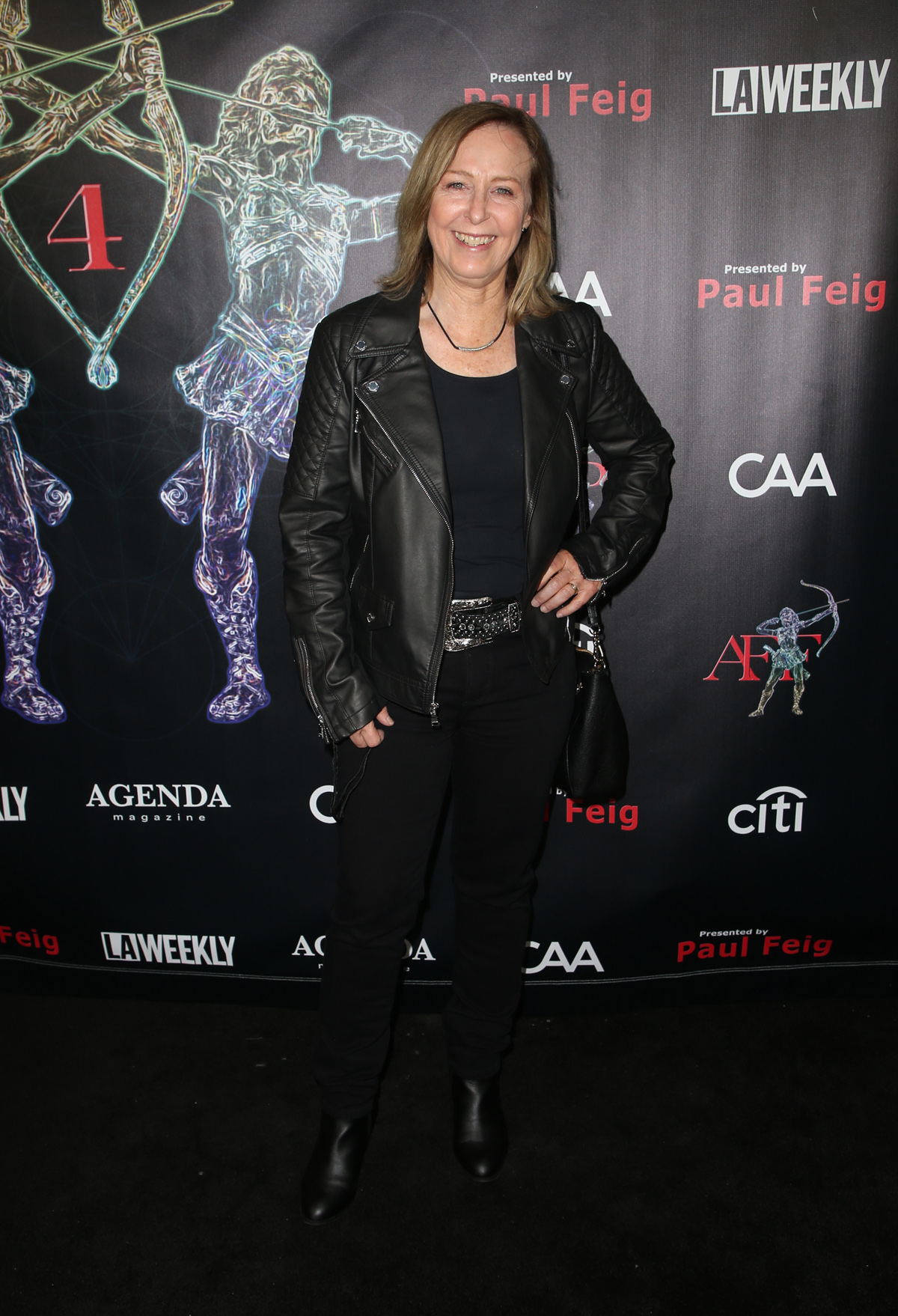BEVERLY HILLS, CA - APRIL 26: Debbie Evans, at the 2018 Artemis Awards Gala at the Ahrya Fine Arts Theater in Beverly Hills, California on April 26, 2018. Credit: Faye Sadou/MediaPunch