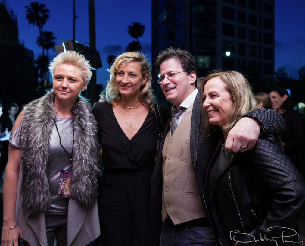 Faneal Godbold, Zoe Bell, Brian Sikoff, Debbie Evans at 2018 Artemis Awards Gala 4/26 in Beverly HIlls CA