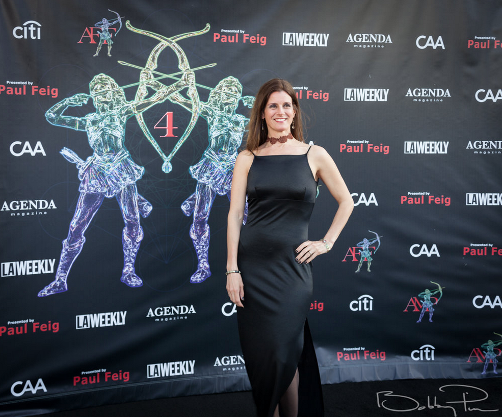 Janelle Tedesco at The Artemis Awards Gala 04/26/18 Beverly Hills, CA