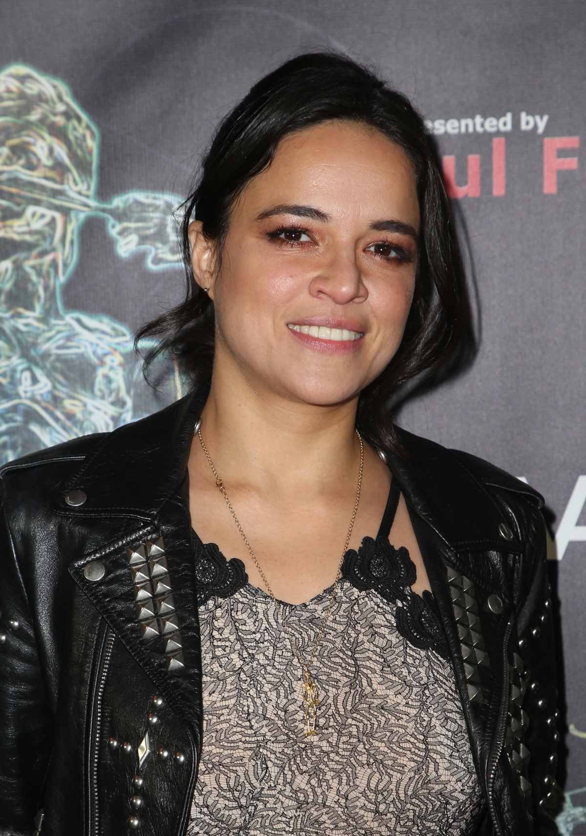 BEVERLY HILLS, CA - APRIL 26: Michelle Rodriguez, at the 2018 Artemis Awards Gala at the Ahrya Fine Arts Theater in Beverly Hills, California on April 26, 2018. Credit: Faye Sadou/MediaPunch