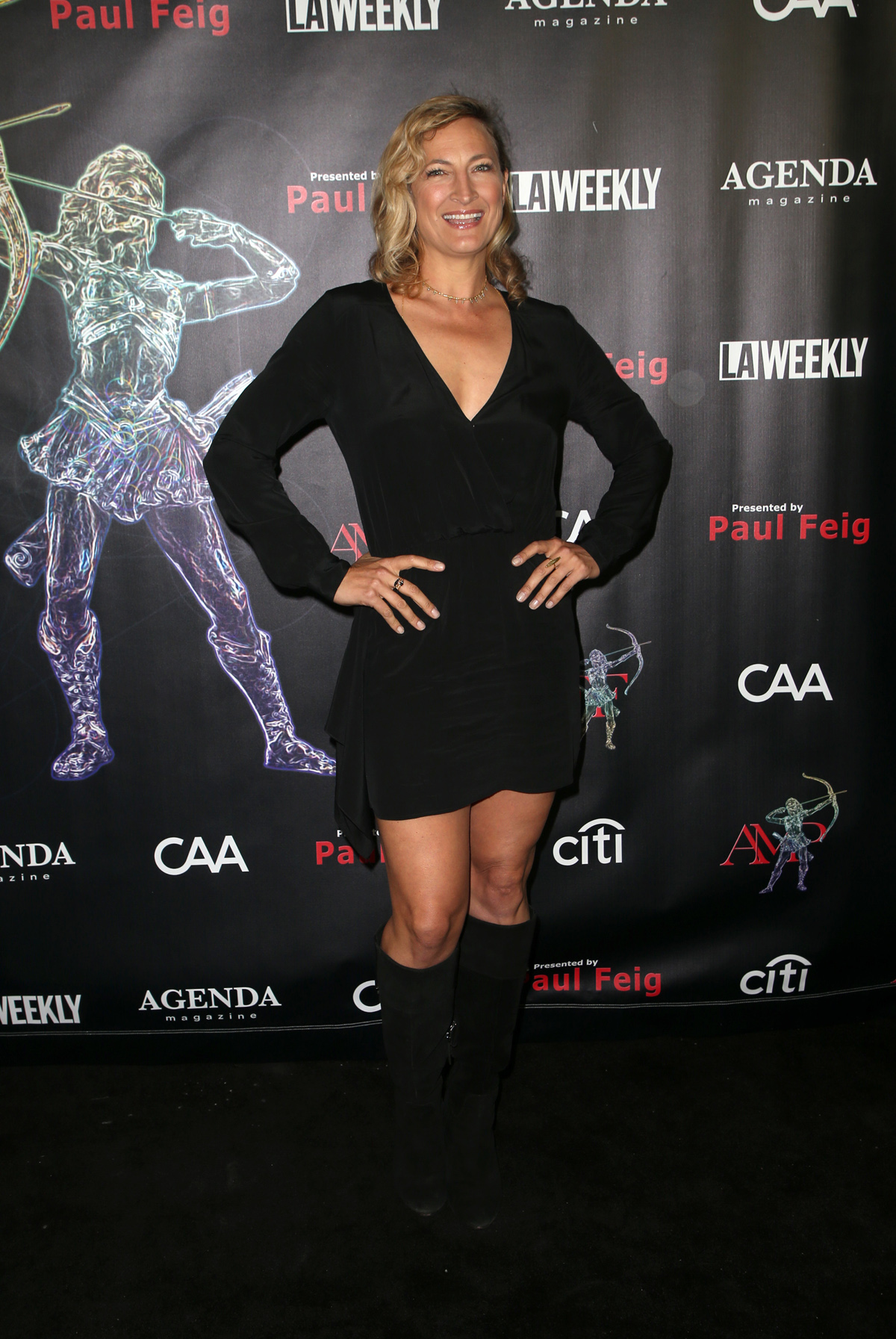 BEVERLY HILLS, CA - APRIL 26: Zoe Bell, at the 2018 Artemis Awards Gala at the Ahrya Fine Arts Theater in Beverly Hills, California on April 26, 2018. Credit: Faye Sadou/MediaPunch