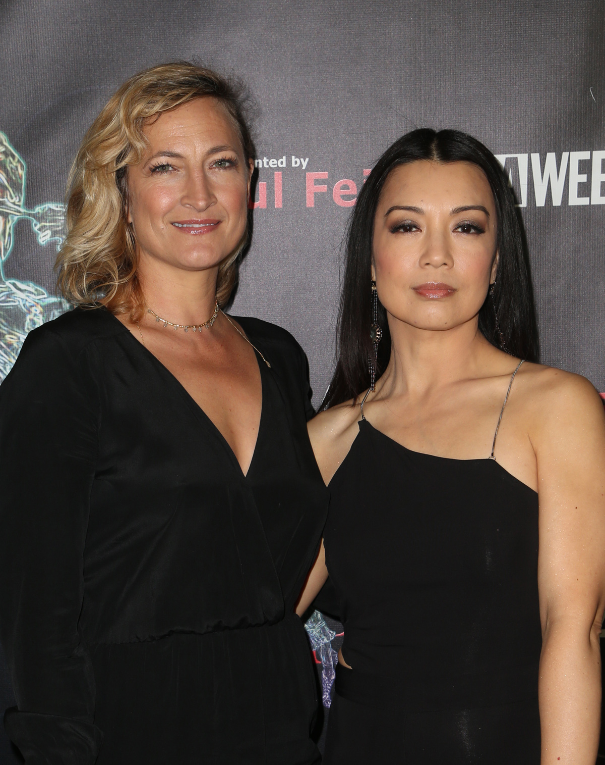 BEVERLY HILLS, CA - APRIL 26: Zoe Bell, Ming-Na Wen, at the 2018 Artemis Awards Gala at the Ahrya Fine Arts Theater in Beverly Hills, California on April 26, 2018. Credit: Faye Sadou/MediaPunch