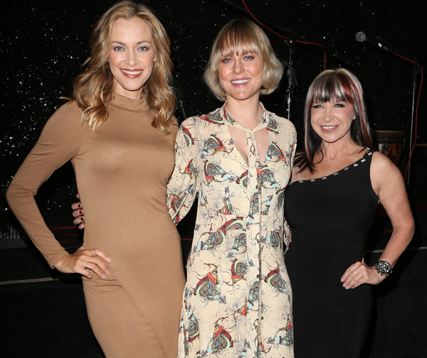 Kirstanna Loken Ingrid Bolsø Berdal and Cynthia Rothrock on the Artemis Red Carpet