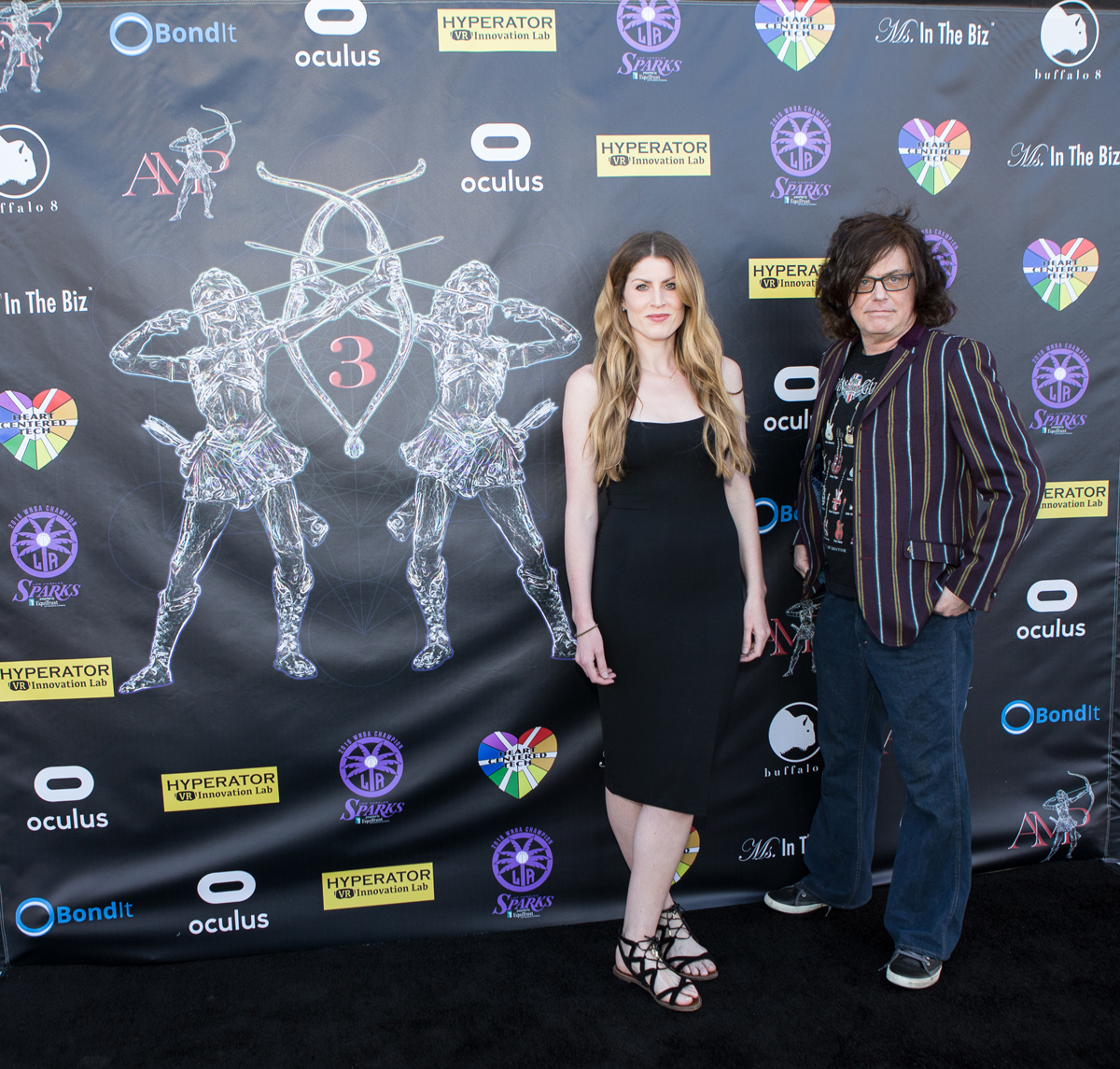 Cheryl McQueen And Stephen David Brooks Star Amd Director, Iris