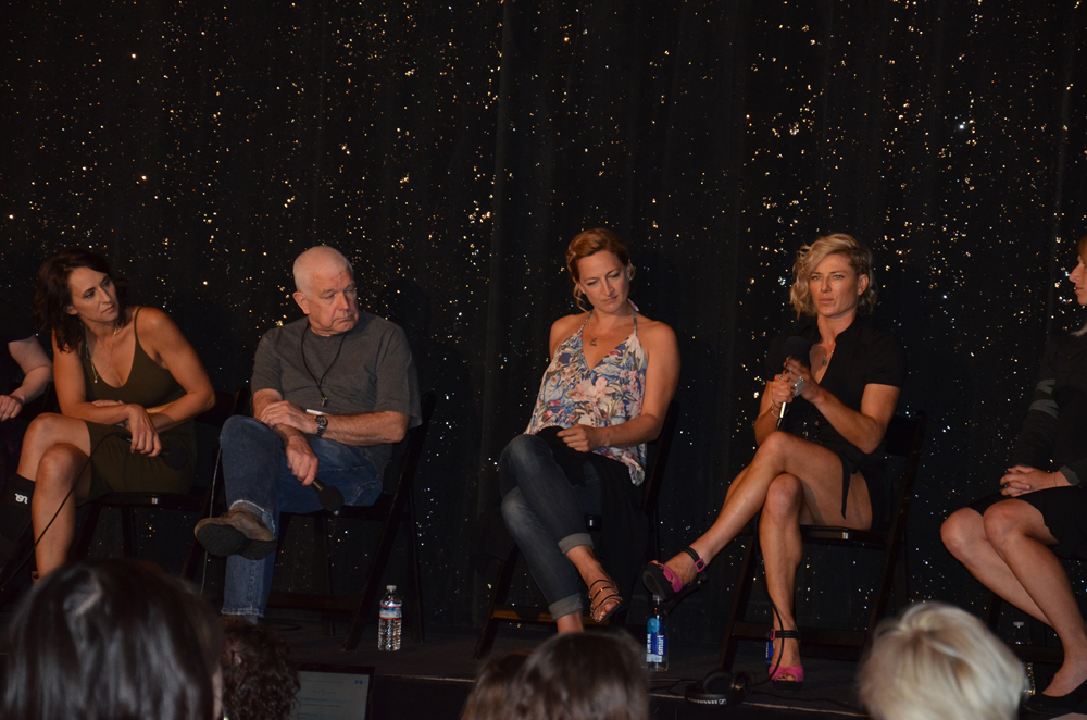 Dayna Grant Andy Armstrong Zoe Bell Heidi Moneymaker Stunt Panel