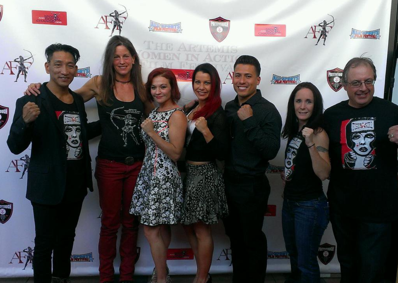 Gary Lei Melanie Wise Jill Morley Maureen Shae Tracy Konas N Crew Fight Girl