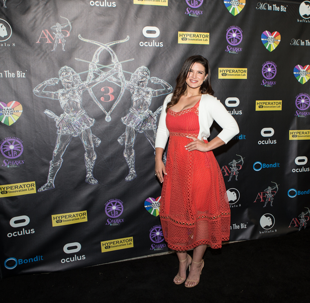Gina Carano, 2017 Action Warrior Honoree
