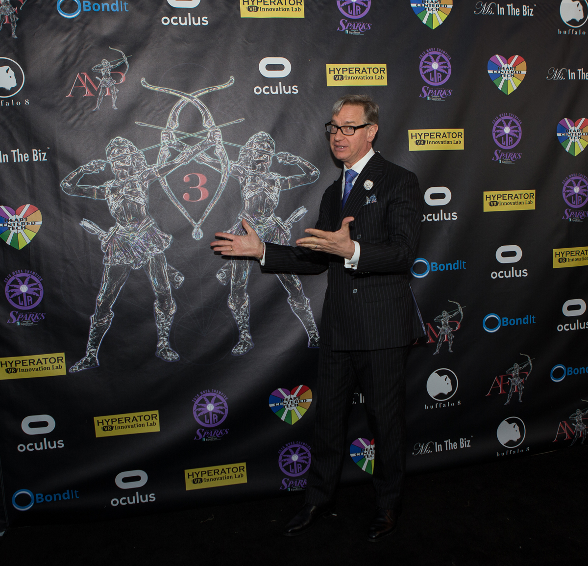 Paul Feig, 2016 Action Rebel Honoree & Presentation Credit of 2017 Festival