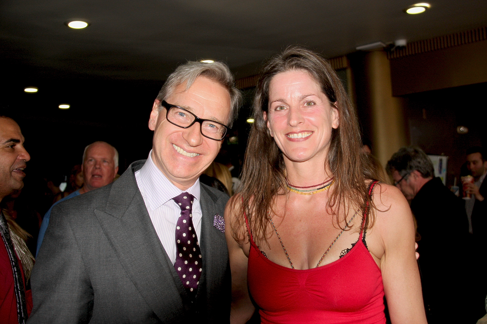 Paul Feig Melanie Wise Lobby