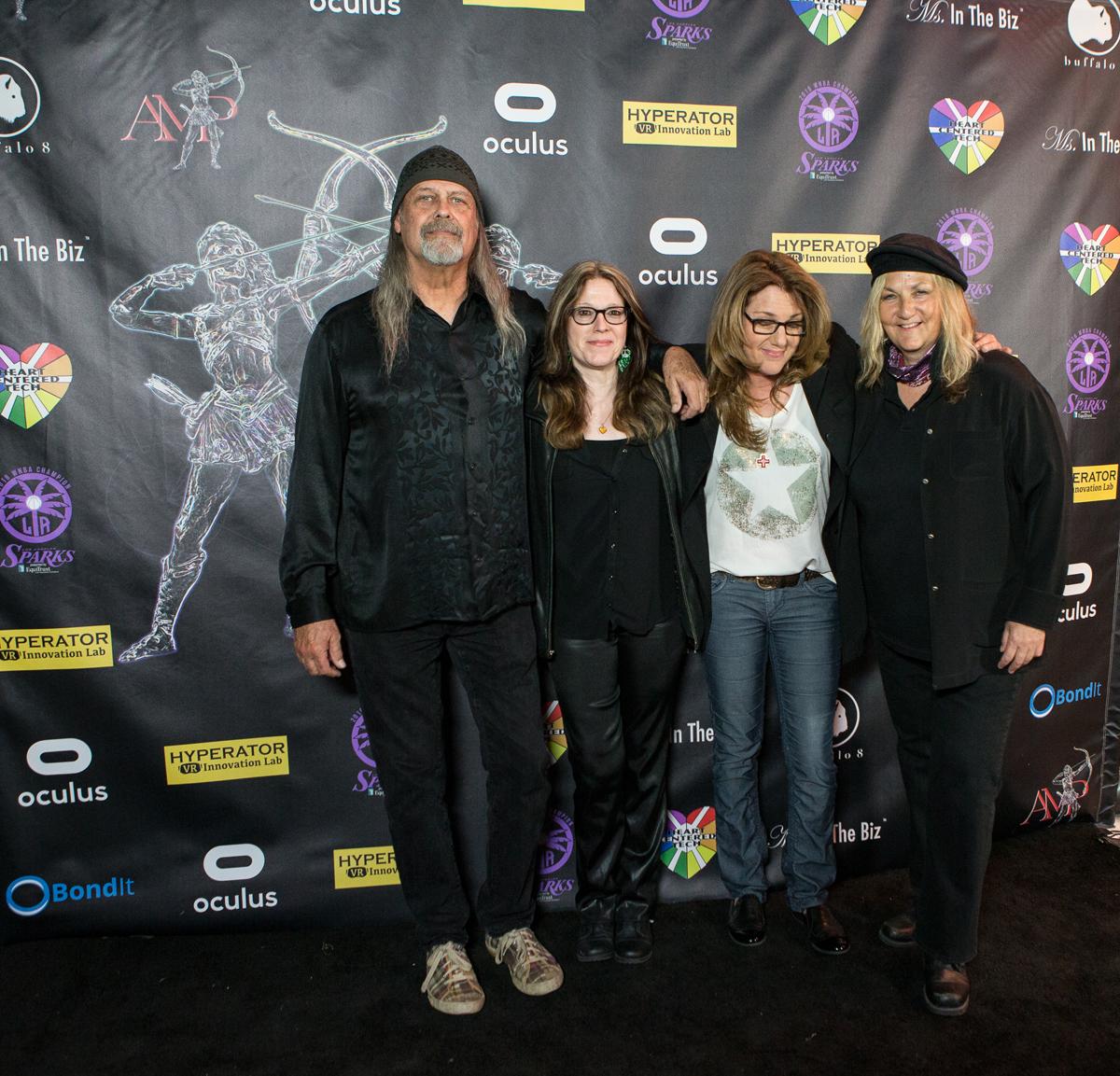 Steve Soest, Angela Riggio, Michelle Mangione, Linda Falzone