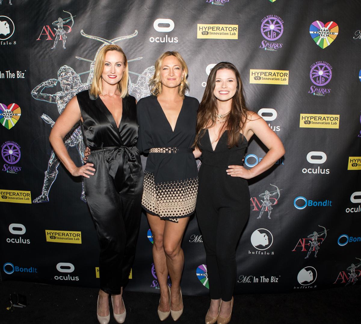 Vanessa Cater, Zoe Bell, Sarah Mun