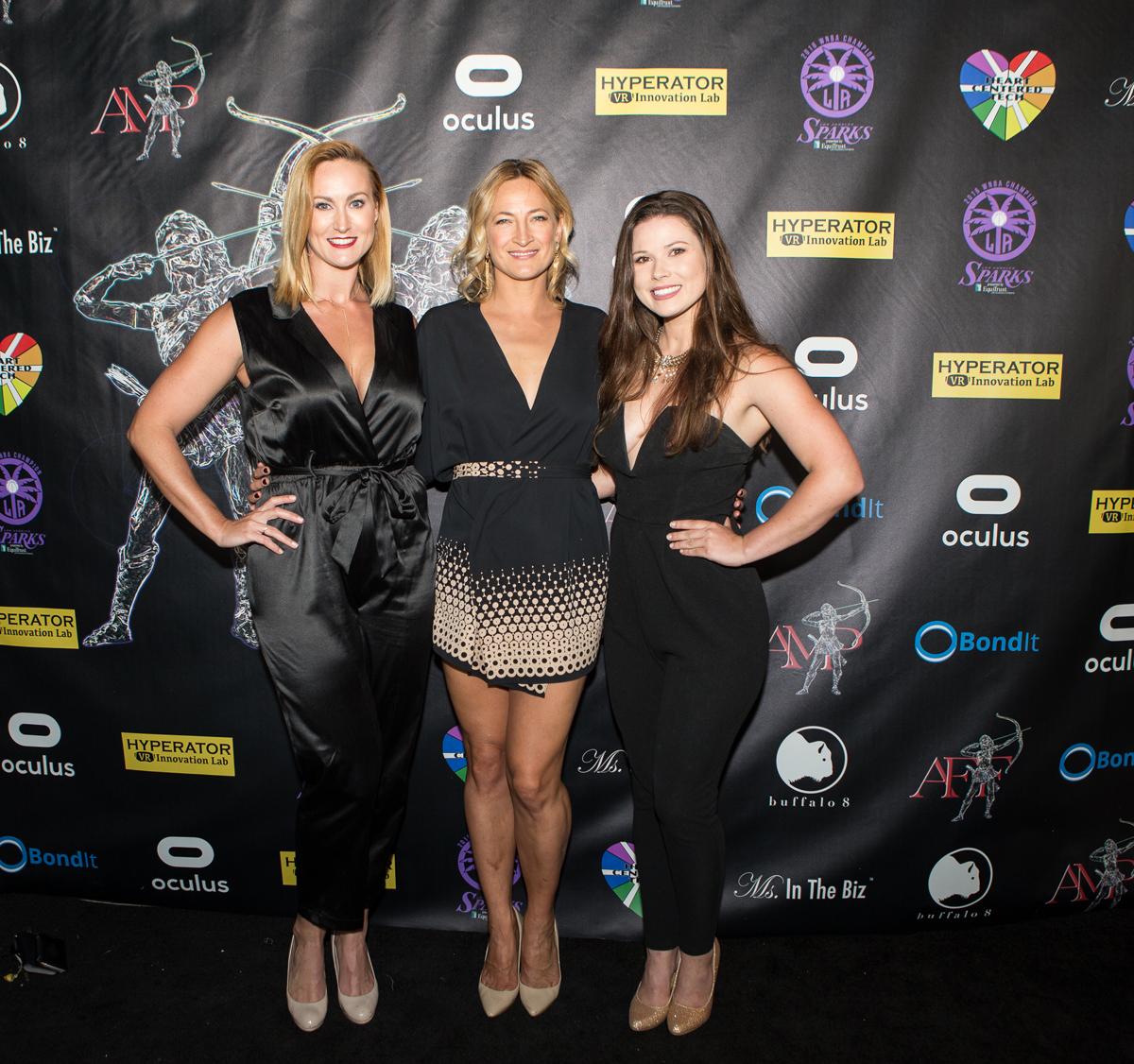 Vanessa Cater, Zoe Bell, Sarah Munn