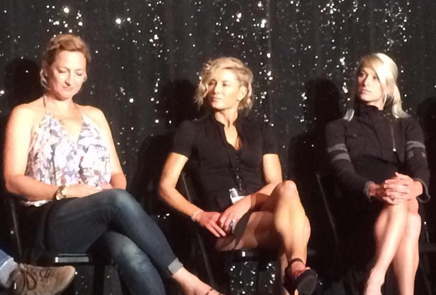 Zoe Bell Heidi Moneymaker Jessie Graff Stunt Panel