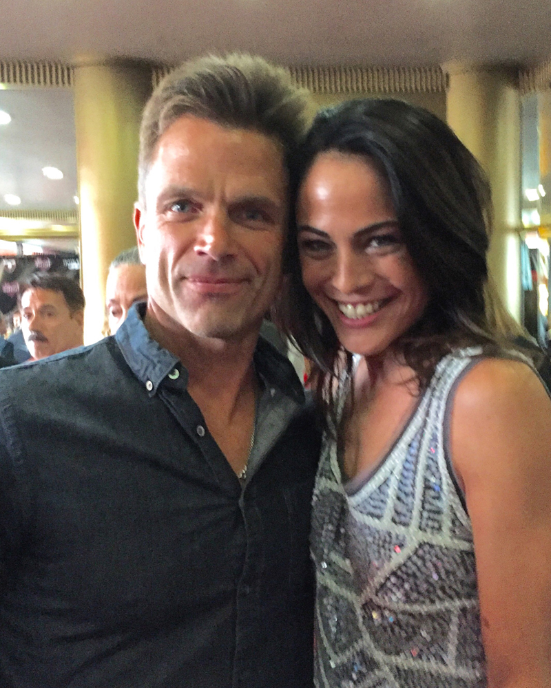 David Chokachi Yancy Butler, 2016 Artemis Action Powerhouse Honoree