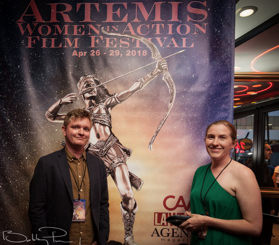 2018 Official Selection Filmmakers at The Artemis Awards Gala 4/26/18 Beverly Hills, CA