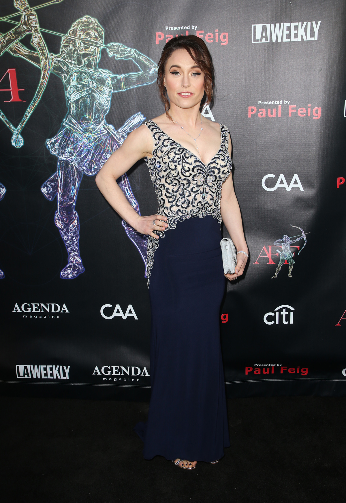 BEVERLY HILLS, CA - APRIL 26: Cassandra Ebner, at the 2018 Artemis Awards Gala at the Ahrya Fine Arts Theater in Beverly Hills, California on April 26, 2018. Credit: Faye Sadou/MediaPunch