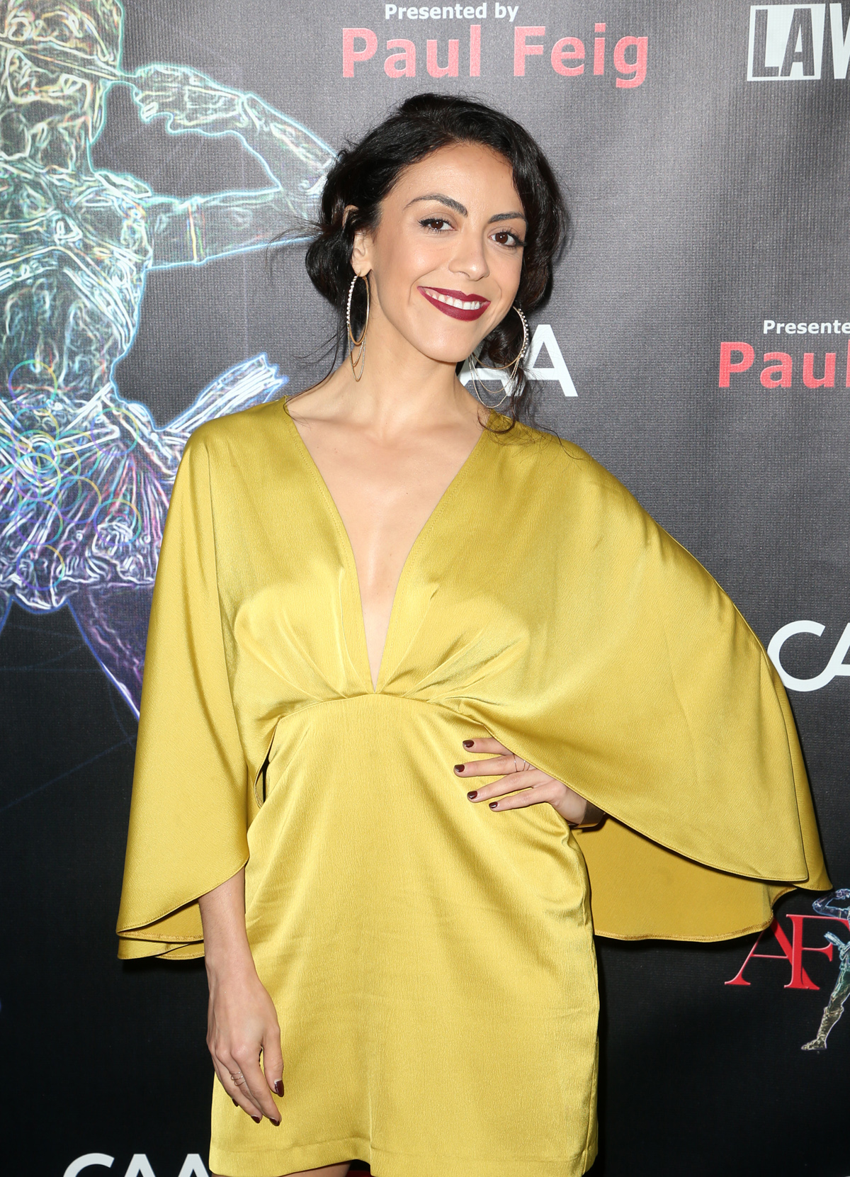 BEVERLY HILLS, CA - APRIL 26: Grace Parra, at the 2018 Artemis Awards Gala at the Ahrya Fine Arts Theater in Beverly Hills, California on April 26, 2018. Credit: Faye Sadou/MediaPunch