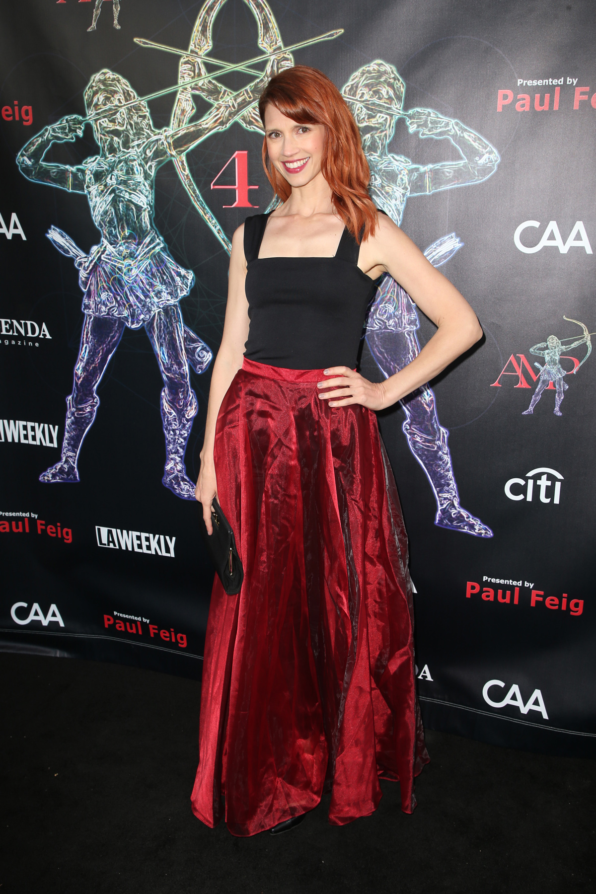 BEVERLY HILLS, CA - APRIL 26: Julie McNiven, at the 2018 Artemis Awards Gala at the Ahrya Fine Arts Theater in Beverly Hills, California on April 26, 2018. Credit: Faye Sadou/MediaPunch