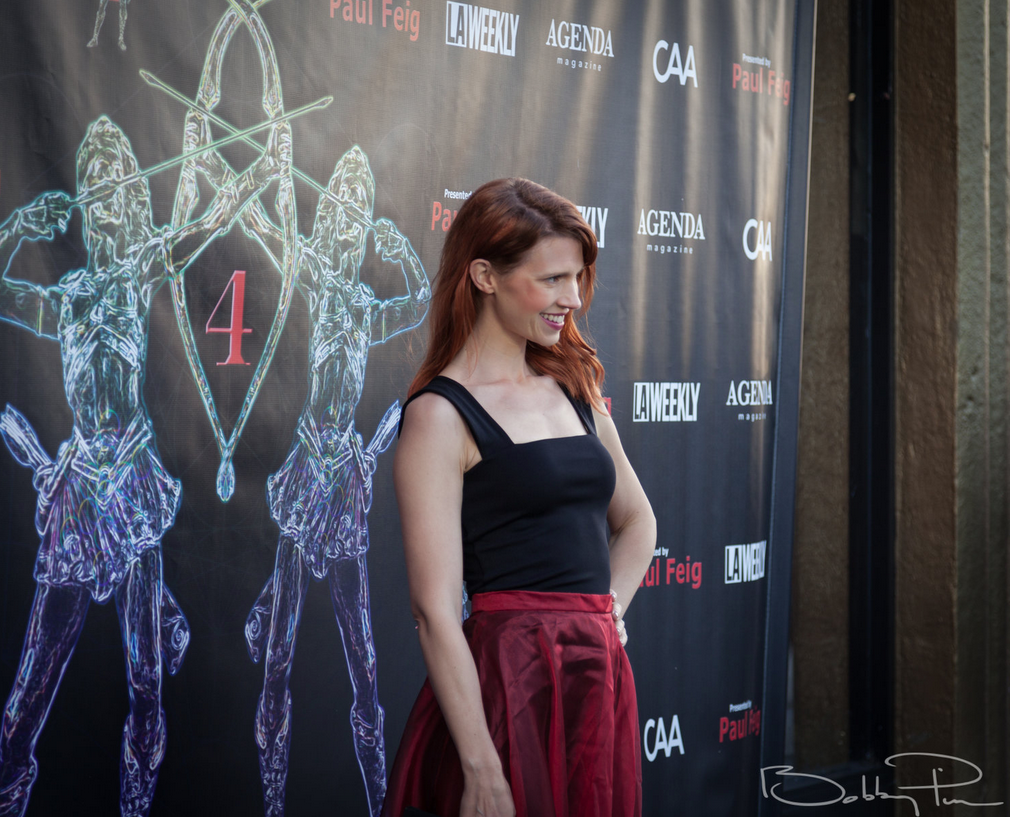 Julie McNiven at The Artemis Awards Gala 04/26/18 Beverly Hills, CA