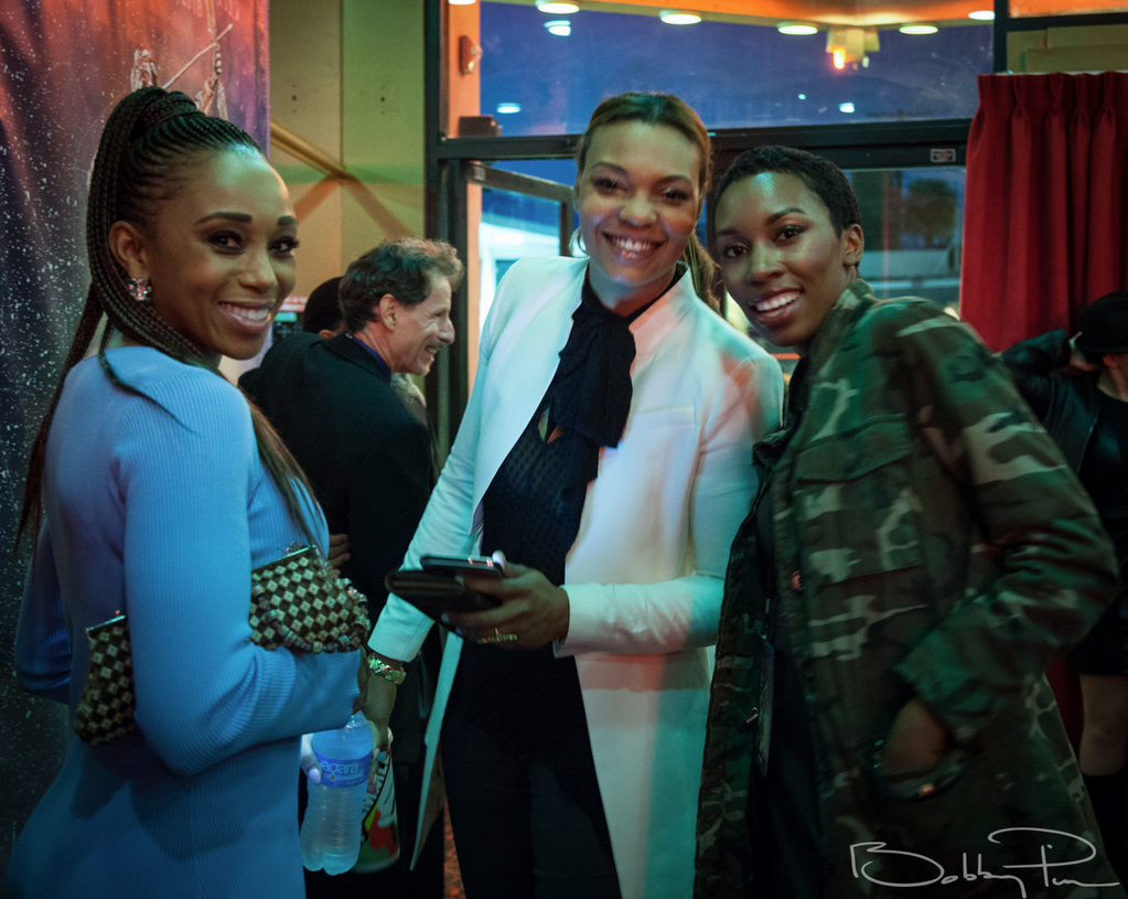 Zee James and cast members of 2018 Official Selection The Game at 2018 Artemis Awards Gala 4/26 in Beverly HIlls CA