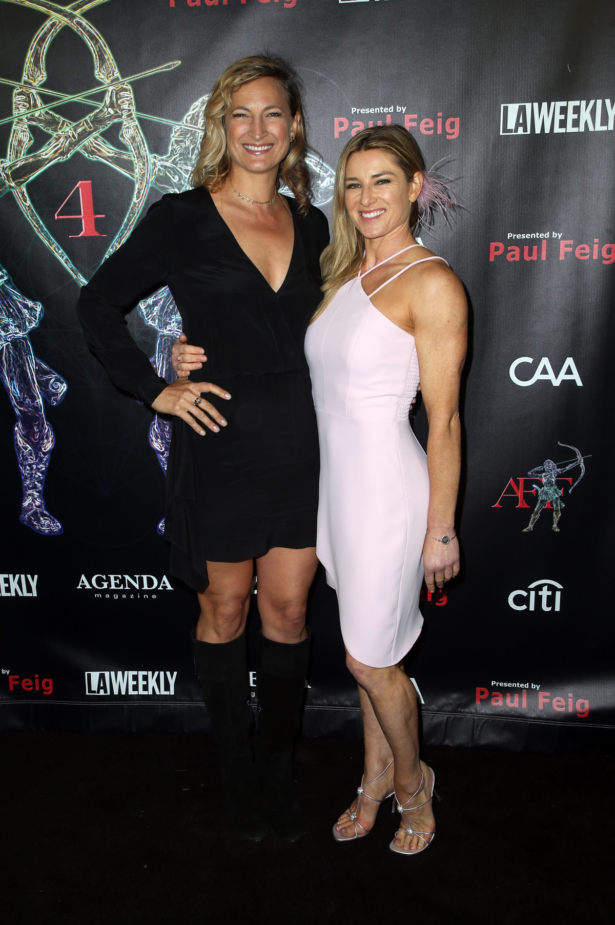 BEVERLY HILLS, CA - APRIL 26: Zoe Bell, Heidi Moneymaker, at the 2018 Artemis Awards Gala at the Ahrya Fine Arts Theater in Beverly Hills, California on April 26, 2018. Credit: Faye Sadou/MediaPunch