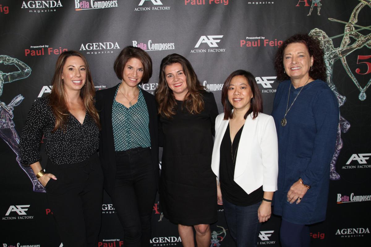 FinalDraft CREATING KICK ASS FEMALE CHARACTERS Panel Kala Guess Ally Iseman Eva Vives Teresa Huang Shea E Butler 15