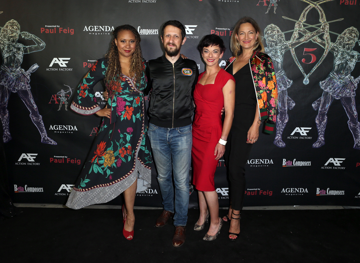 Tracey Tombs Max Isaacson Andi Norris Zoe Bell 2
